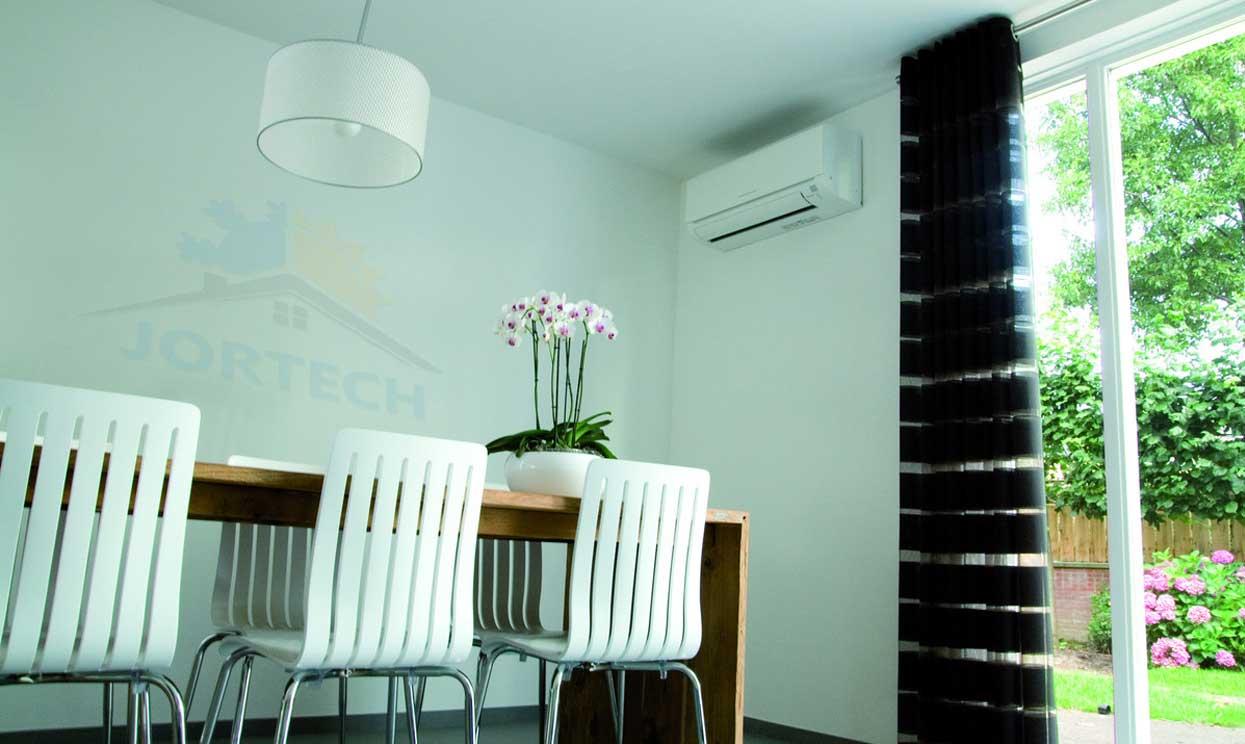 Jortech Daikin plafond onderbouw airconditiong